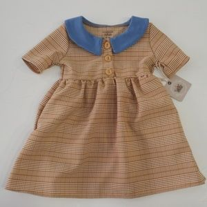 NWT Woodmouse & Thistle Baby Girl Dress 12-18m